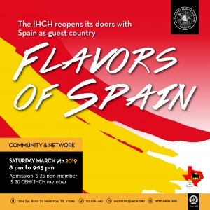 Flavors of Spain @ Institute of hispanic Culture of Houston