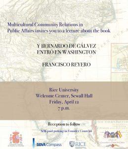Galvez Book Presentation @ Rice University