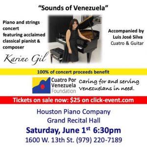 Sounds of Venezuela by Karine Gil @ Houston Piano Company
