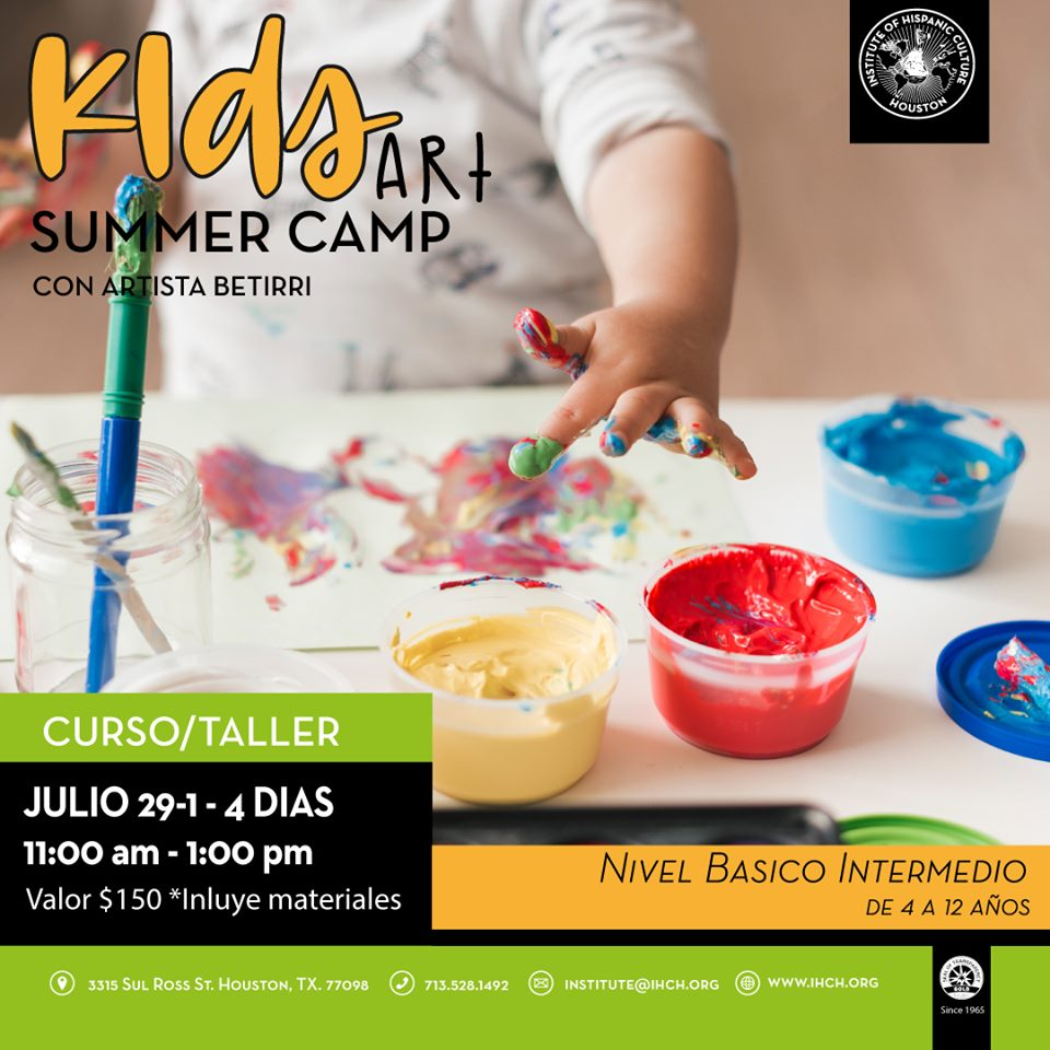 Kids Art Summer Camp @ Institute of Hispanic Culture of Houston