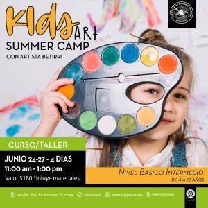 Kids Art Summer Camp @ Institute of Hispanic Culture of Houston
