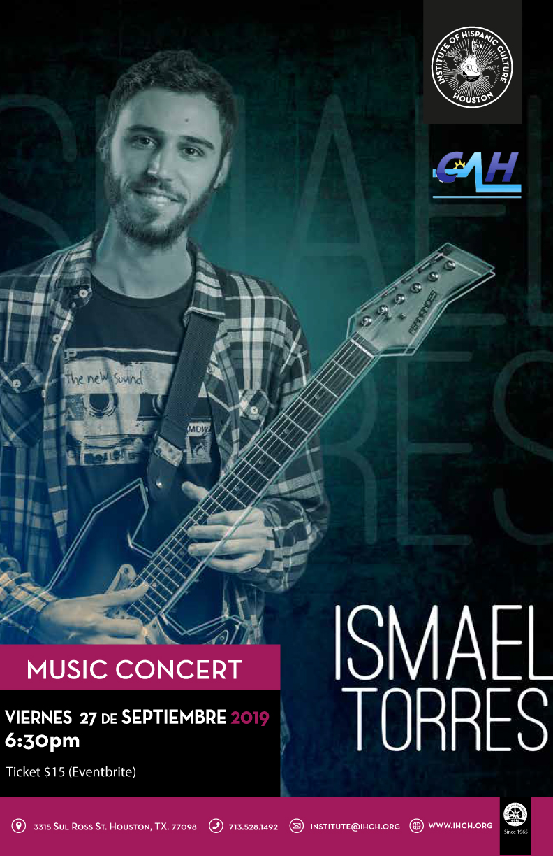 Ismael Torres in Concert @ Institute of Hispanic Culture