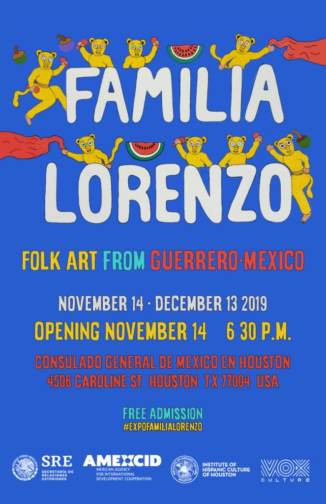 Familia Lorenzo @ Consulado General de Mexico en Houston