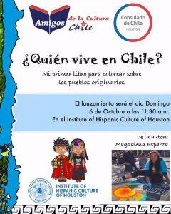 Quien vive en Chile de Magdalena Esparza @ Institute of Hispanic Culture of Houston