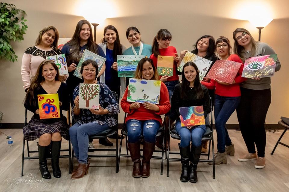 "Exposición Artística ""Creadoras"" @ Institute of Hispanic Culture of Houston"