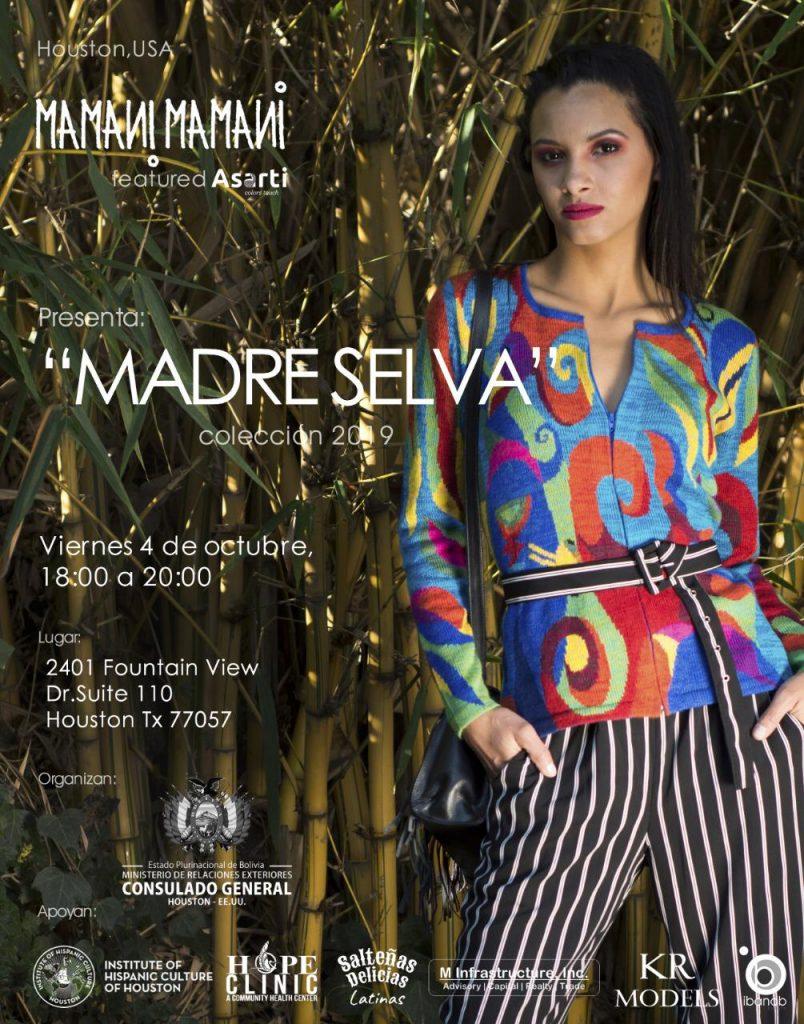 Lanzamiento Coleccion Madre Selva por Mamani Mamani